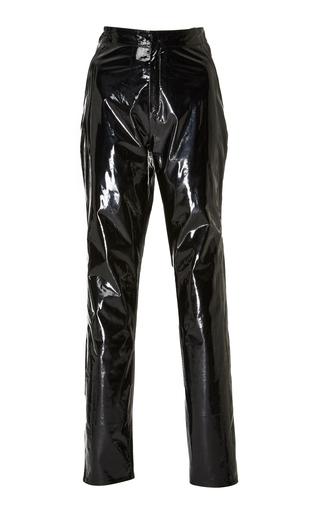 Medium zeynep arcay black high waist patent leather pants