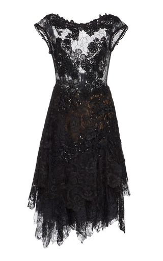 Medium martha medeiros black agnes lace dress