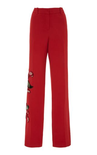 Medium martha medeiros red yumi crepe pants