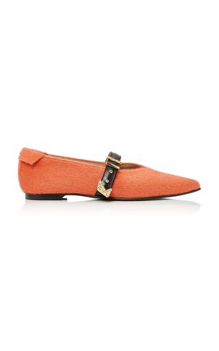 Medium reike nen orange pointed flat