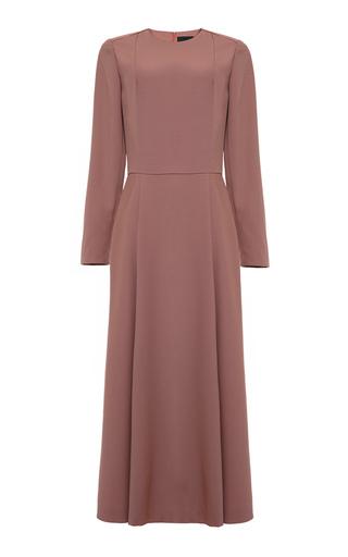 Medium lake studio pink tailored midi dress