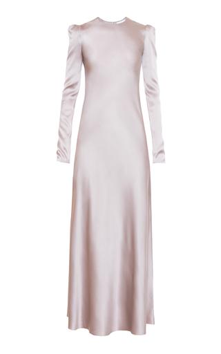 Medium lake studio silver long sleeve sheath dress