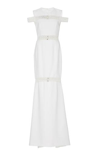 Medium georges hobeika white embellished sleeveless dress
