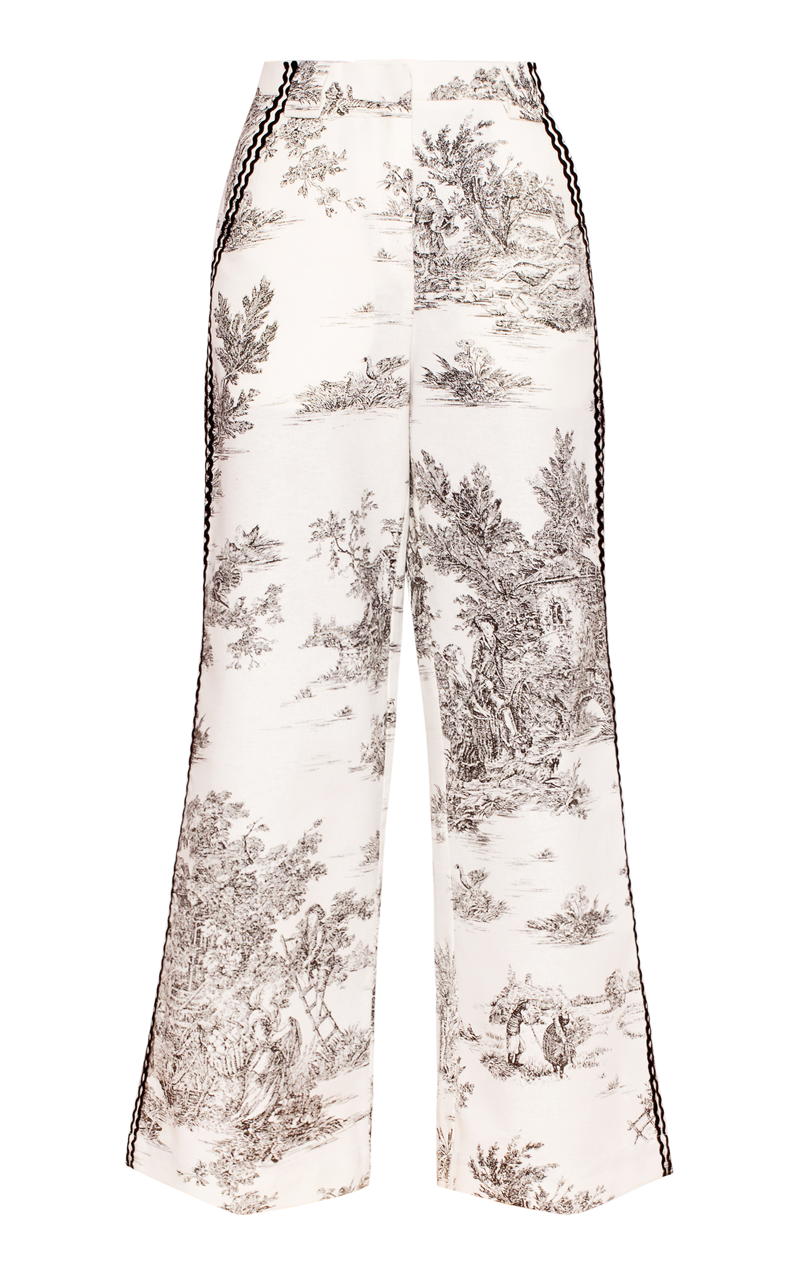 e286e4b1c Wide Leg Toile Pants