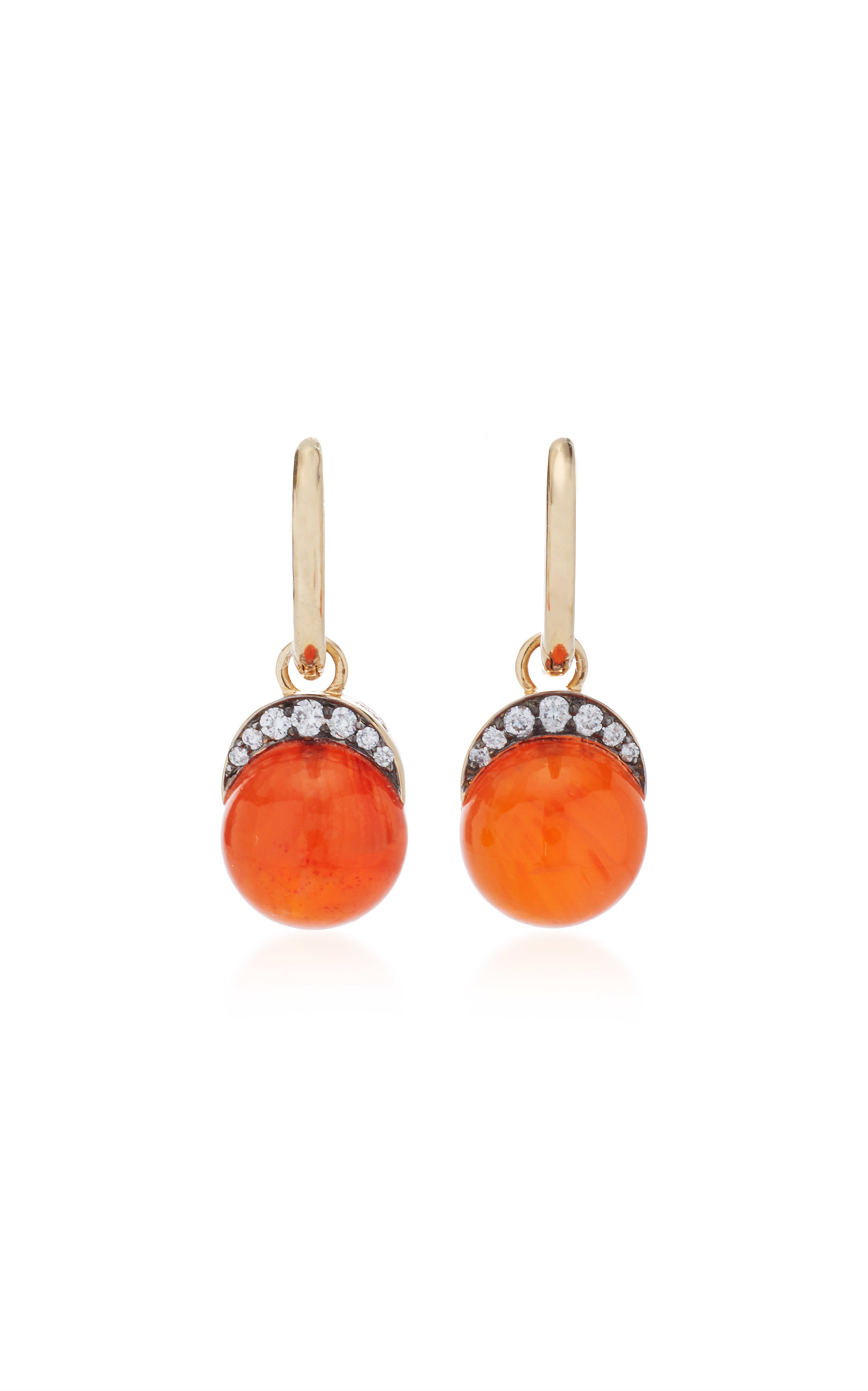 arpels cleef van carnelian brands vintage alhambra earrings duplicate sold fine jewellery
