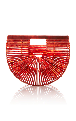 Medium cult gaia red small acrylic ark bag