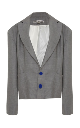 Medium edeline lee grey manikin jacket