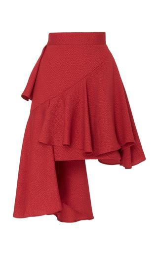 Medium edeline lee red hobbyhorse mini skirt