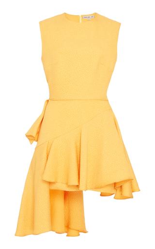 Medium edeline lee yellow hobbyhorse mini dress