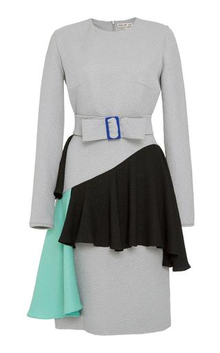 Medium edeline lee grey hobbyhorse long sleeve dress