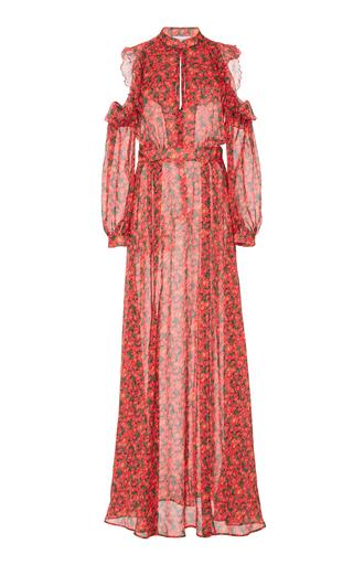 Medium raquel diniz red ava maxi dress