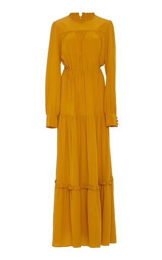 Medium raquel diniz yellow beatrice long dress
