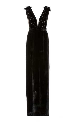 Medium raquel diniz black anastasia gown