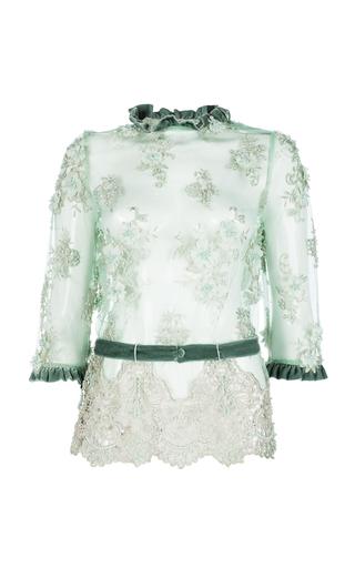 Medium ezgi cinar green chloris blouse