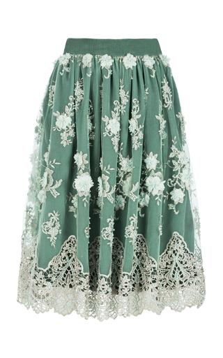 Medium ezgi cinar green chloris skirt