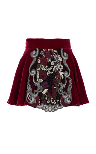Medium ezgi cinar burgundy eos skirt