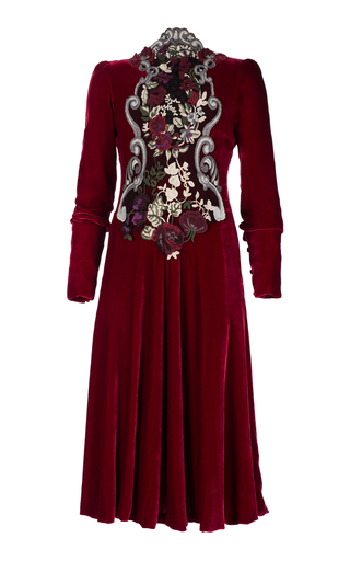 Medium ezgi cinar burgundy eos dress