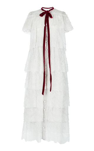 Medium ezgi cinar white hebe dress