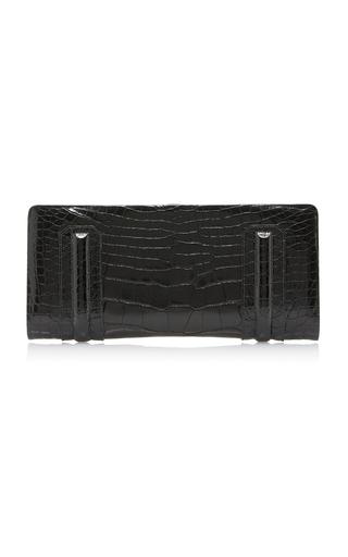 Medium stalvey black aliza framed clutch 2
