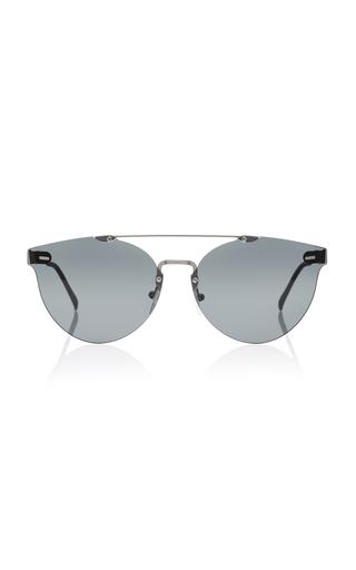 Medium super by retrosuperfuture black tuttolente giaguaro aviator style acetate sunglasses
