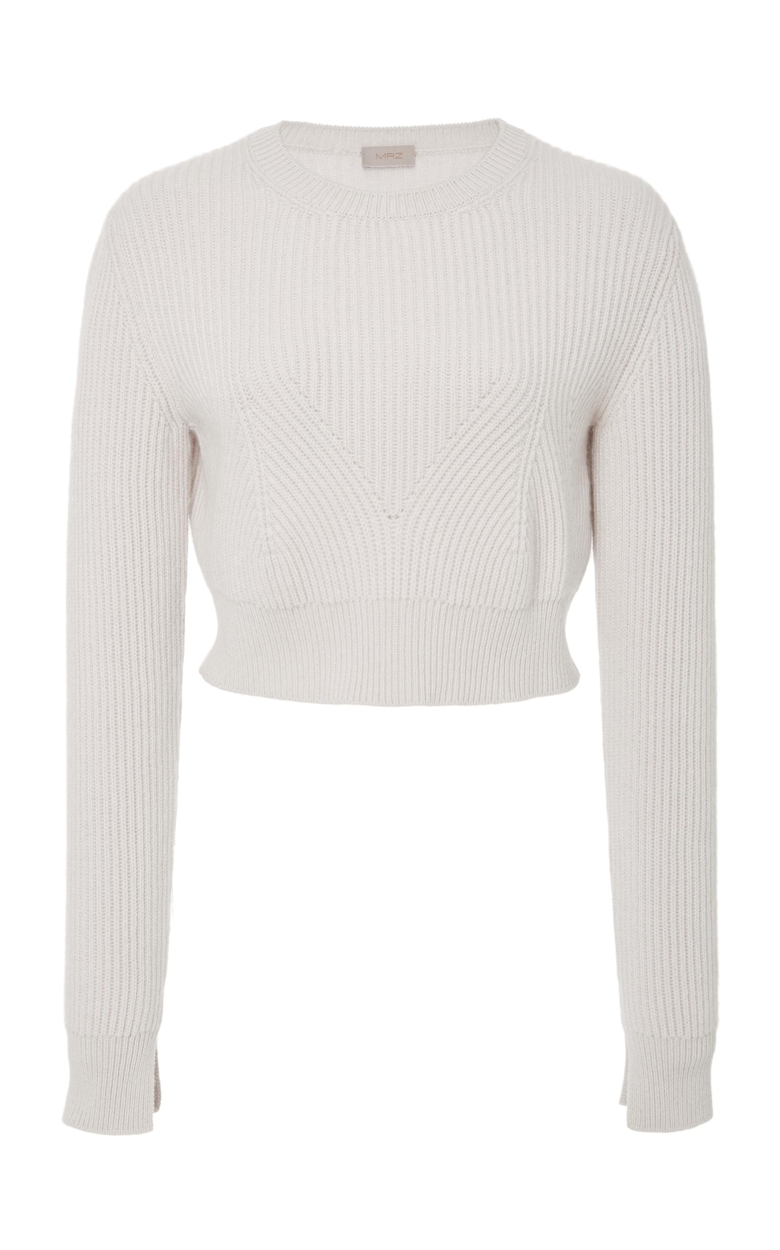 Cropped Ribbed Sweater by MRZ | Moda Operandi
