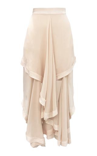 Medium kitx neutral silk creme liberty draped skirt