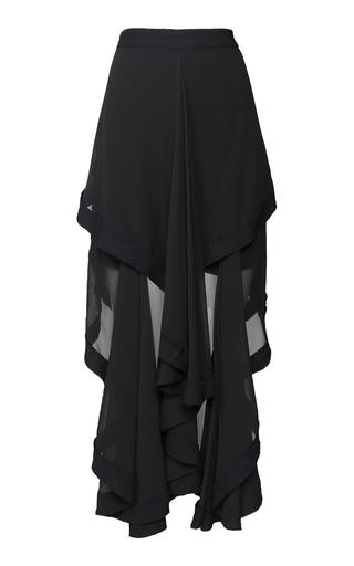 Medium kitx black black liberty draped skirt
