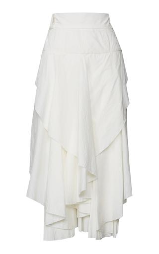 Medium kitx white we love ruffled skirt