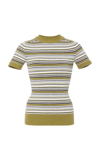 Medium joos tricot multi striped knit top