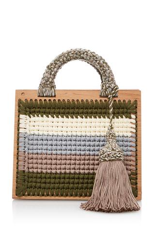 Medium seveneleven green m o exclusive antonina st barts purse