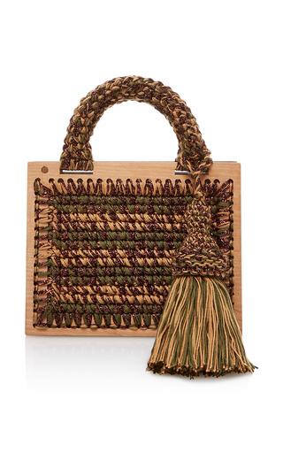 Medium seveneleven brown rodion st barts purse