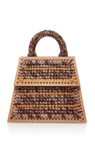 Medium seveneleven brown dacha mauritius purse