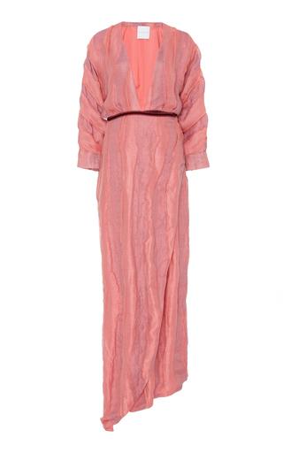 Medium markarian pink jane wrap gown
