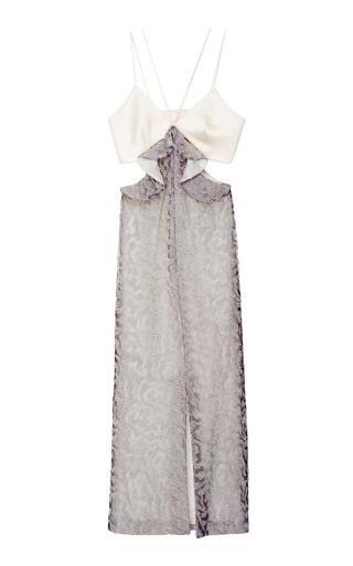 Medium markarian silver pegasus dress