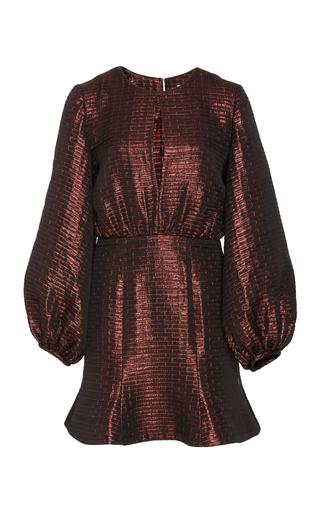 Medium markarian burgundy andromeda mini dress