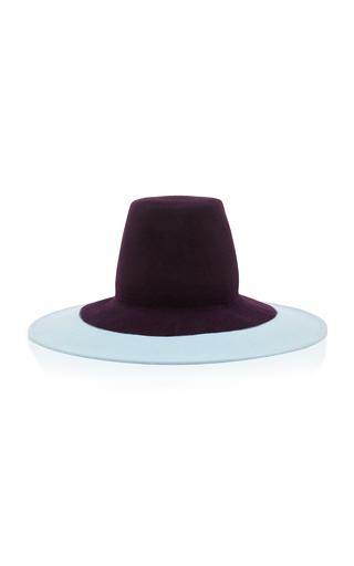 Medium behida dolic millinery purple irana hat