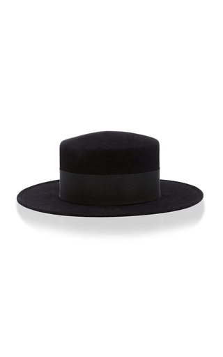 Medium behida dolic millinery black joan hat