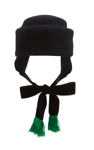 Medium behida dolic millinery black celia hat