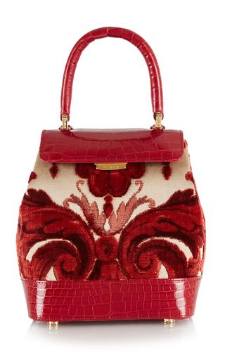 Medium rubeus milano red liza small bag