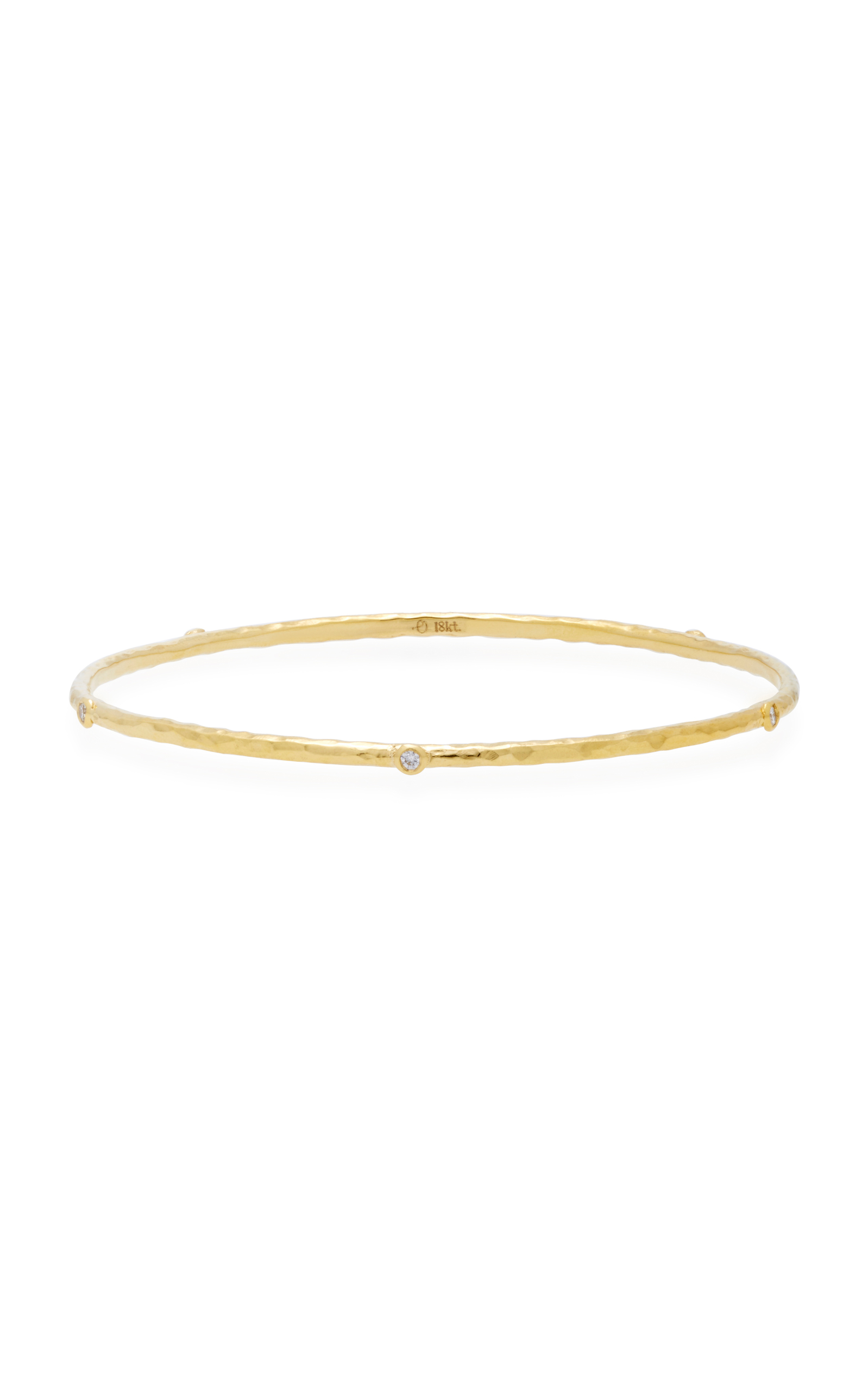 gold bracelet her diamond in with white thin shop bracelets bangles collections once bangle a upon baguettes