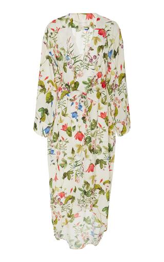 Medium maison du soir floral isabella kimono robe