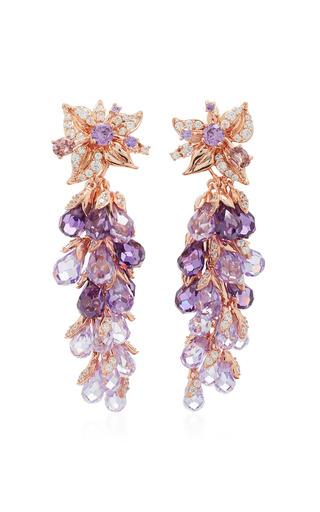 Medium anabela chan purple m o exclusive amethyst coralbell earrings