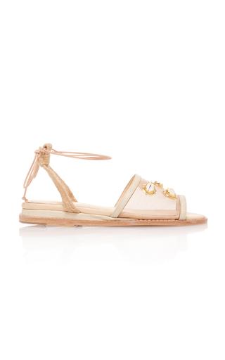 Medium marcela b neutral nude embellished sandal
