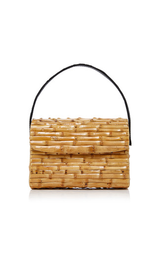 Medium glorinha paranagua neutral milano bamboo bag