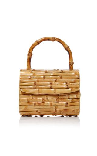 Medium glorinha paranagua neutral bebel bamboo bag