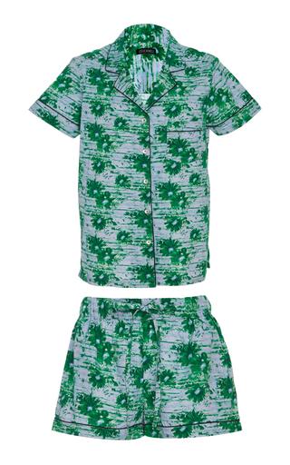 Medium stevie howell green frida pajama set