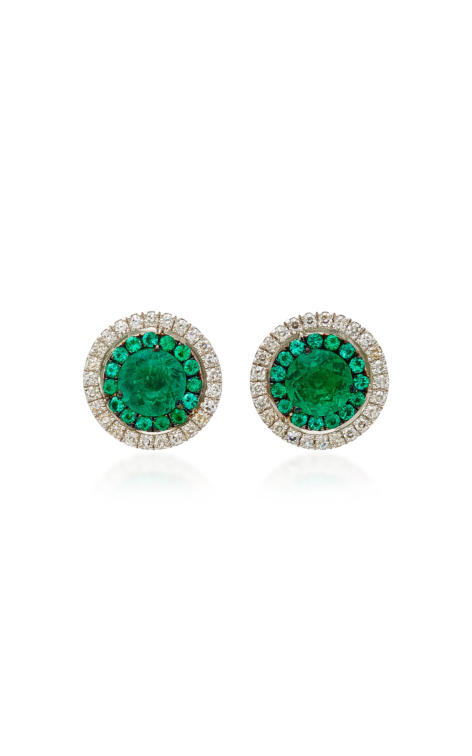 sv green light emerald mini orhangen drop jewelry turquoise mde earrings caroline lt stud svedbom butik