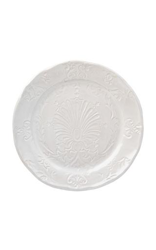 Medium cabana x zsuzsanna nyul multi imprinted ceramic dinner plate set of 4