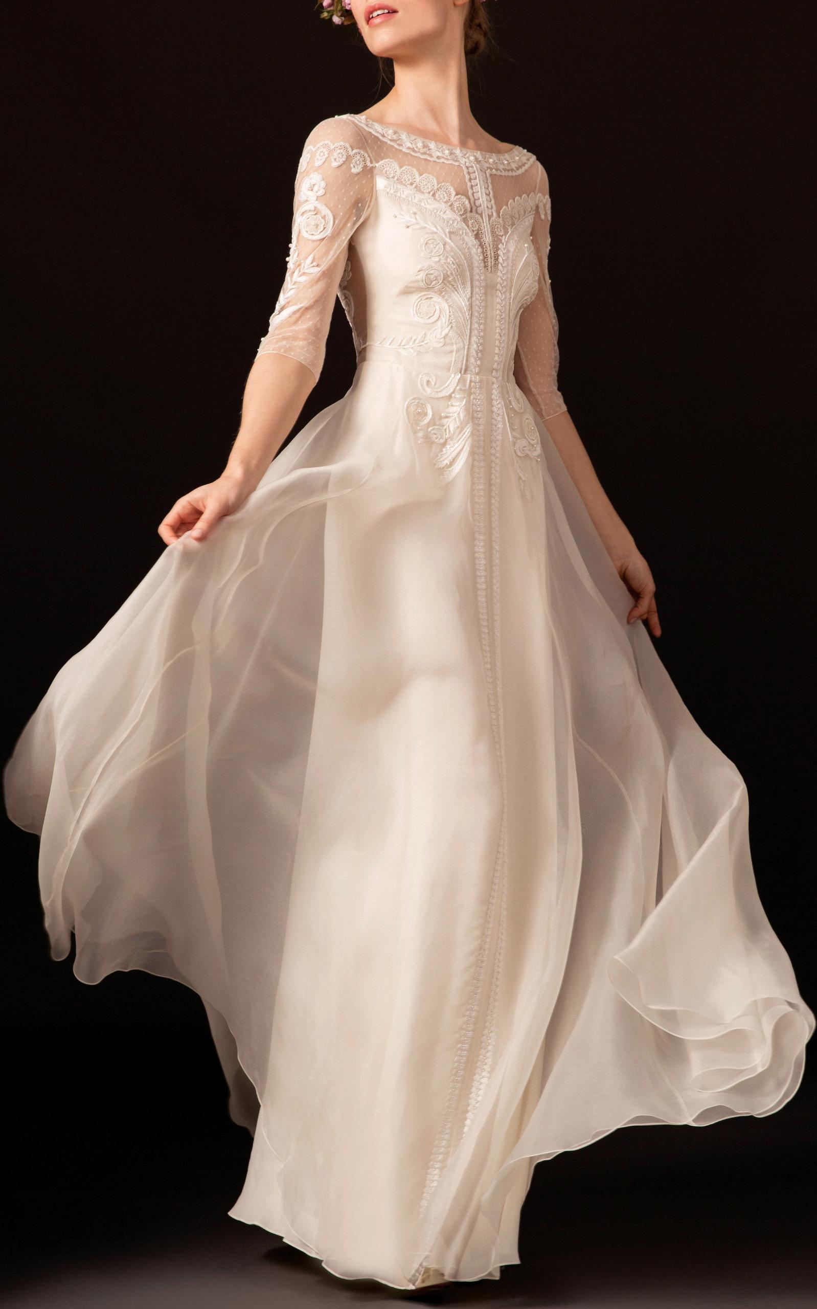 The zaida by temperley london moda operandi for Wedding dress outlet london