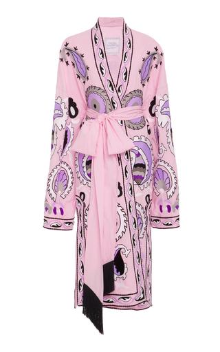 Medium yuliya magdych pink delight cotton silk robe